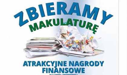 """Konkurs """"Zbieramy makulaturę"""" 2018-2019"""